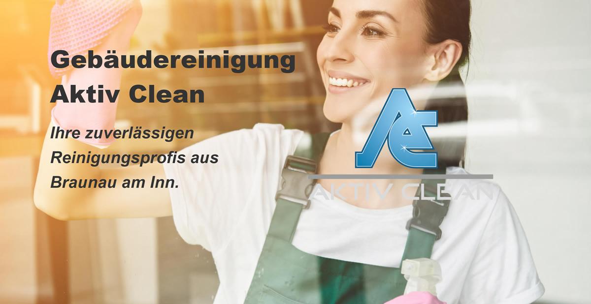 Gebäudereinigung Salzburg 🥇 Active Clean ✔ Reinigungsfirma, Fassadenreinigung ツ