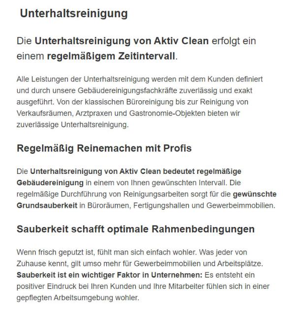 Glasreinigung Unterhaltsreinigung in 4641 Steinhaus